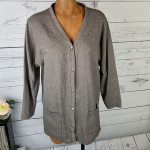 ⚡Express Tricot Button Front Cardigan Medium
